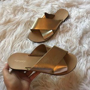 Topshop Leather Sandal